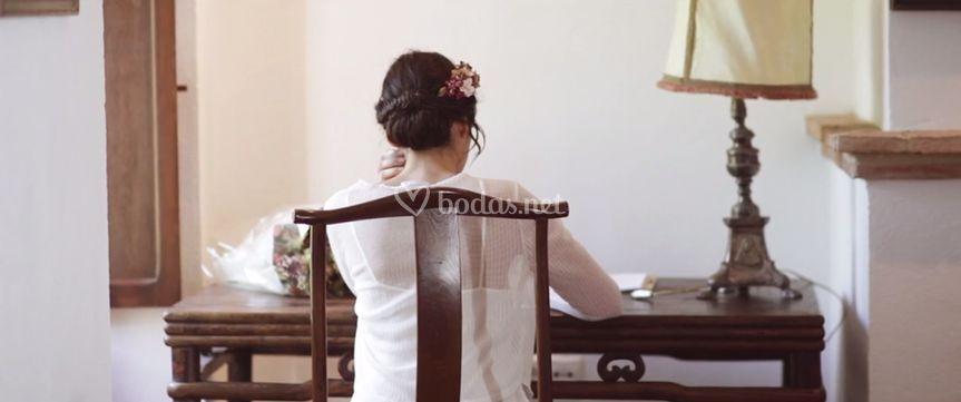 La novia en su gran día