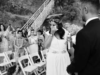 Tama y Carlos, boda en la playa