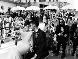 Nati y Raúl, boda en Olvera