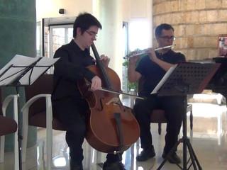 Ópera de Rinaldo (Haendel). Dúo (Violonchelo-Flauta)