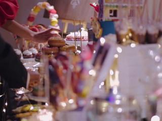 Mesa dulce Hansel y Gretel