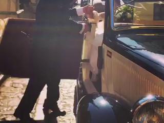 Coche de época para la boda