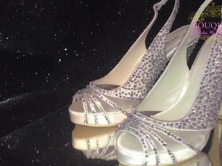 Zapatos personalizados con cristales