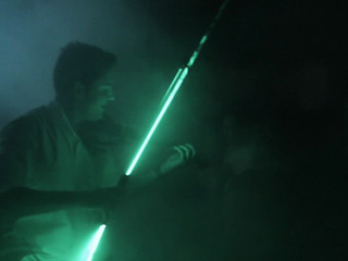 Show Laser Lolo Alonso