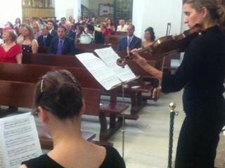 Adagio de Albinoni con órgano y violín
