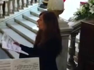 Ave María de Schubert con soprano, violín y piano
