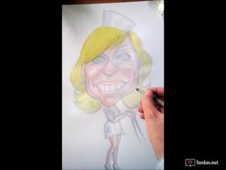 Caricaturas a la carta