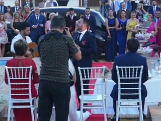 Declaración del novio en una boda