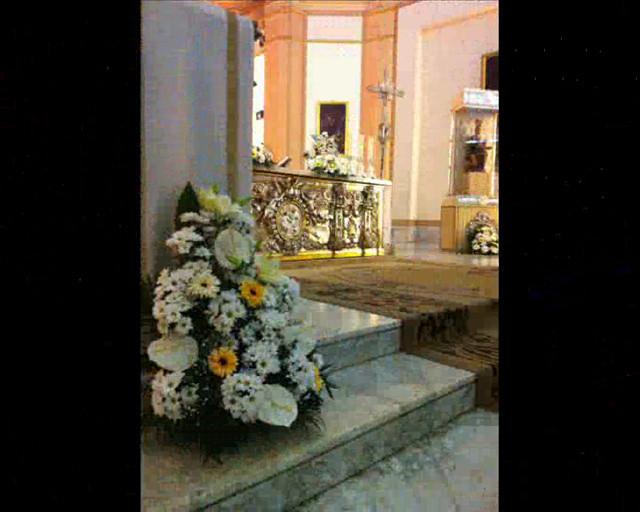 Decoraci n parroquia san andres de valencia rase una for Decoracion bodas valencia