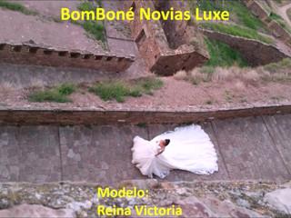 Vestido Reina Victoria - Colección BomBone Novias Luxe