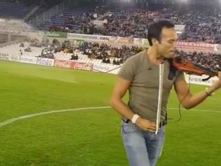 Juego de Tronos, live violín en los campos de Sport del Sardinero