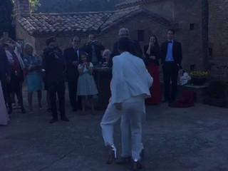 Inicio del baile de las novias