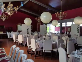 Vídeo decoración con globos
