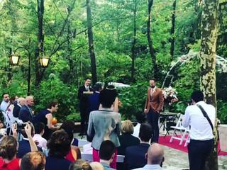 Ceremonia exterior en directo