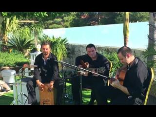 Trío flamenco