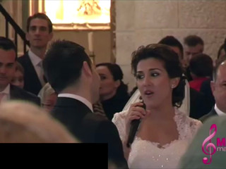 Sorpresa de novia al novio