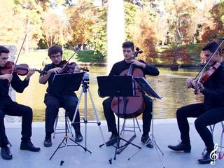 Jason Mraz - I'm Yours cover string quartet Madrid