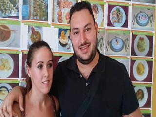 Enlace de Pedro y Patricia, Salón Marino