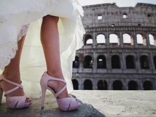 Trash the dress en Roma