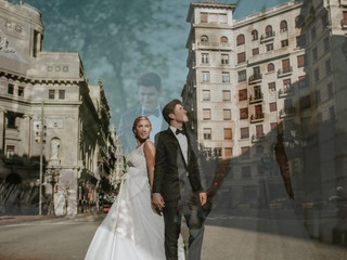 Barcelona: Trash The Dress Nerea y Andrés