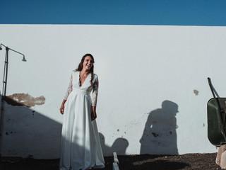Boda en La Graciosa, Lanzarote. Mónica e lvaro