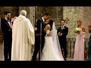 Algunos momentos de la boda de Ana y Jose