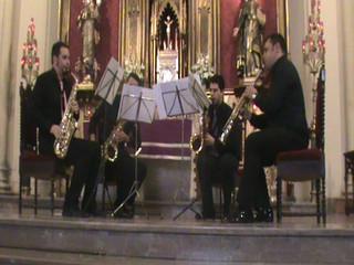 Aria 2º Movimiento Suite Nº3 y Gabriels Oboé - Sax Momentum
