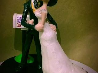 Novios para la tarta de bodas