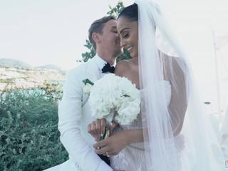 Elegante boda en Ibiza: Sharon & Joe