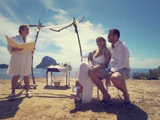 Divertida Boda en Ibiza: Martyna & Michael