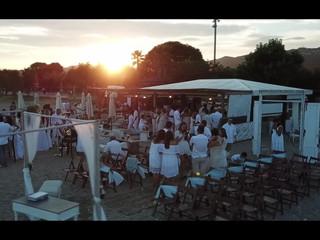 Dron boda Aruba (Pineda de Mar)