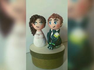 Muñecos personalizados para tarta