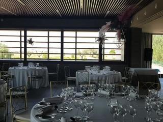 Decoración salón de bodas