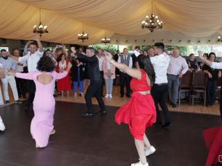 Baile en la boda de Anita y Alberto