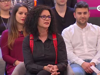 Entrevista a Ana Santervás en la TVG