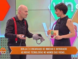 Entrevista a Borja Brun en la TVG