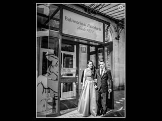 Boda en el Balneario de Mondariz. El día de Antía y Héctor