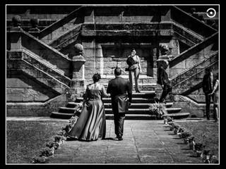Boda en el Monasterio de San Xulian de Samos. El día de Tamara y Roberto