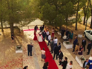 Bodas con drone highlights