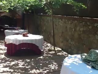 Terraza aperitivo exterior