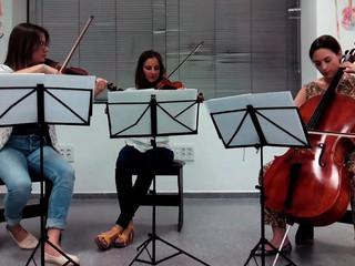 Canon Pachelbel (trío cuerda)
