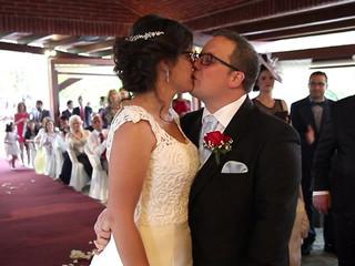 Elena y César, ¡ya se han casado!