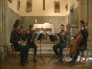 Under Pressure (Queen cover) por Cuarteto Asturias
