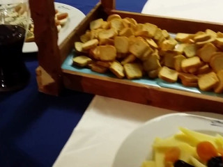 Buffet de quesos en Salones Atalaya.