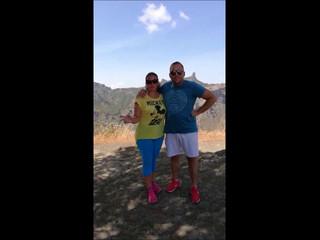 Jose Antonio y Rosario hacienda dehesa el palmitero 08 septiembre 2018