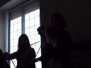 Dúo de violines. Amelie