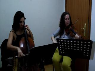 Dúo Violín y Cello. Star Wars
