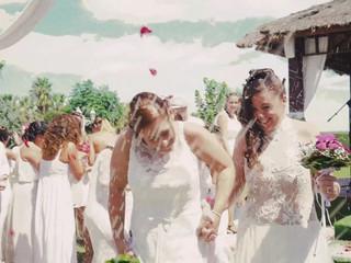Resumen de la boda de Debora & Ainhoa