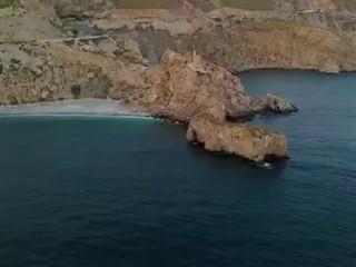 Castell de Ferro y la Playa de la Rijana