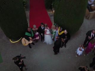 Corto del enlace de Andrea & Antonio ¡Felicidades pareja!